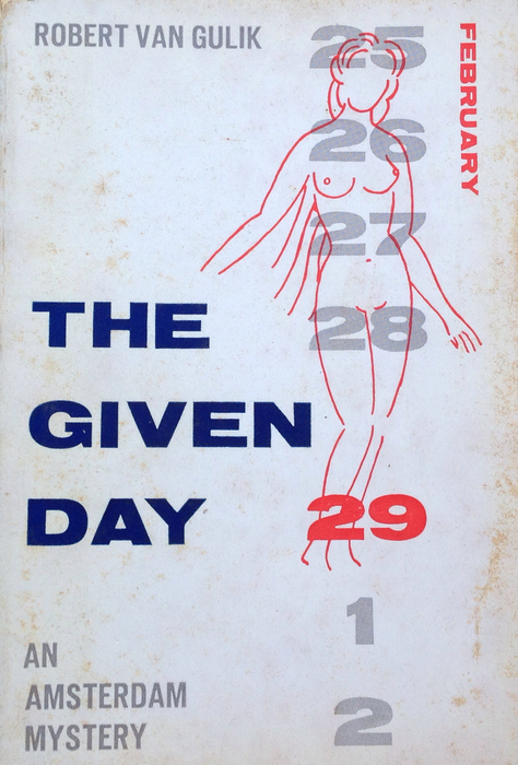Robert van Gulik Signed copy of The Given Day 00