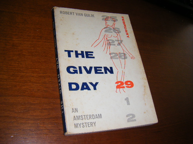 Robert van Gulik Signed copy of The Given Day 04