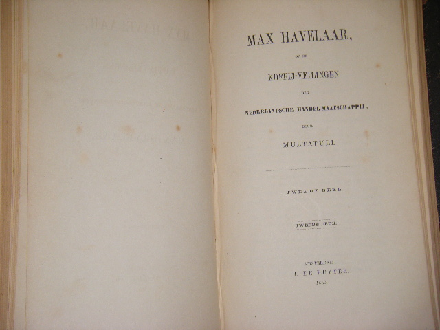 Citaten Uit Max Havelaar : Old rare multatuli max havelaar of de koffij