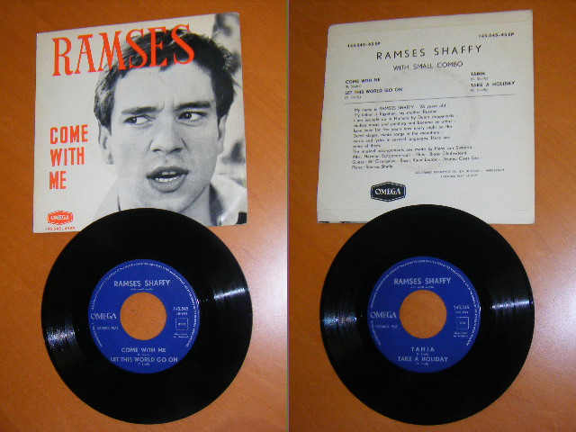 Ramses Shaffy - Sammy / Marije / Shaffy Cantate / 5 Uur