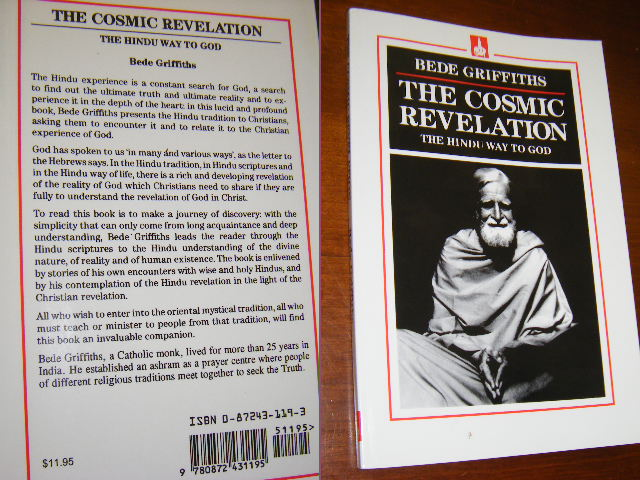 Bede Griffiths The Cosmic Revelation The Hindu Way To God