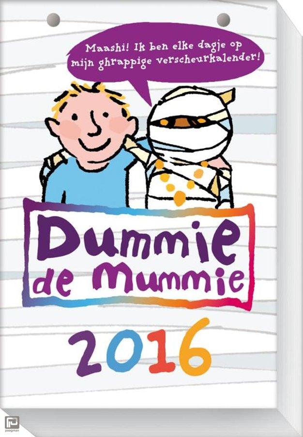 Voor dagelijks Mummie-plezier. Extra tip: maak van de afgescheurde blaadjes je eigen mummypak ;)